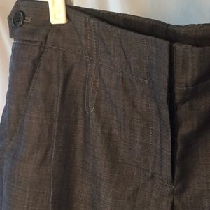 Theory Brione Greece Indigo Trousers Size 6